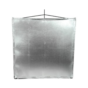 "[Matthews] Road Flag Silver Lame 48""X48""(169198)"